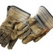 Old Dirty Work Gloves — Stock fotografie