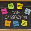Job satisfaction concept — Stock Photo