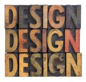 Design - vintage wood typography — Stock Photo