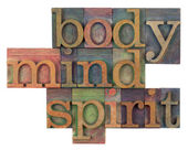 Body, mind and spirit concept — Stock Photo