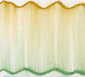 Green and gold pastel abstract — Stock Photo