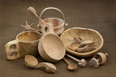 Folk wood craft from Poland — Stock Photo