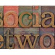 Social network - Foto Stock