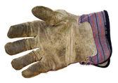 Work leather glove — Stock Photo