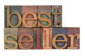 Bestseller - träslag — Stockfoto