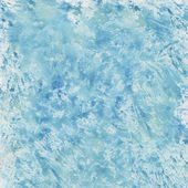 Blue watercolor splashes — Stock Photo