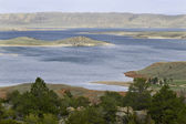 Seminoe Reservoir in Wyoming — Stock Photo