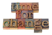 Time for change — Foto Stock