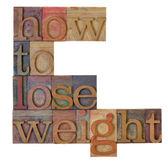 Cómo perder peso — Foto de Stock