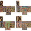 Tips - headline of a list — Stok fotoğraf