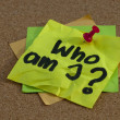 Who am I ? — Stock Photo