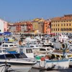 Colourful Croatian Marina — Stock Photo