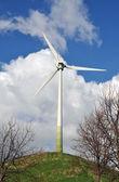 Wind turbine - alternative energy source — Stock Photo