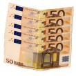 Stock Photo: Fifty euros