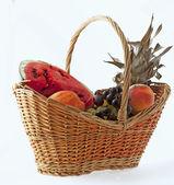 Basket of fruits — Stock Photo