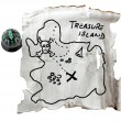 Map of the treasure — Stock Photo