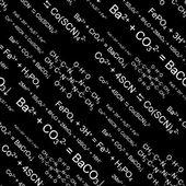 Patrones químicos sin fisuras — Vector de stock