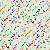 Nahtlose mathematische muster — Stockvektor