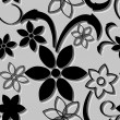 Seamless flower pattern — Image vectorielle