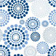 Royalty-Free Stock Vector Image: Seamless circle pattern