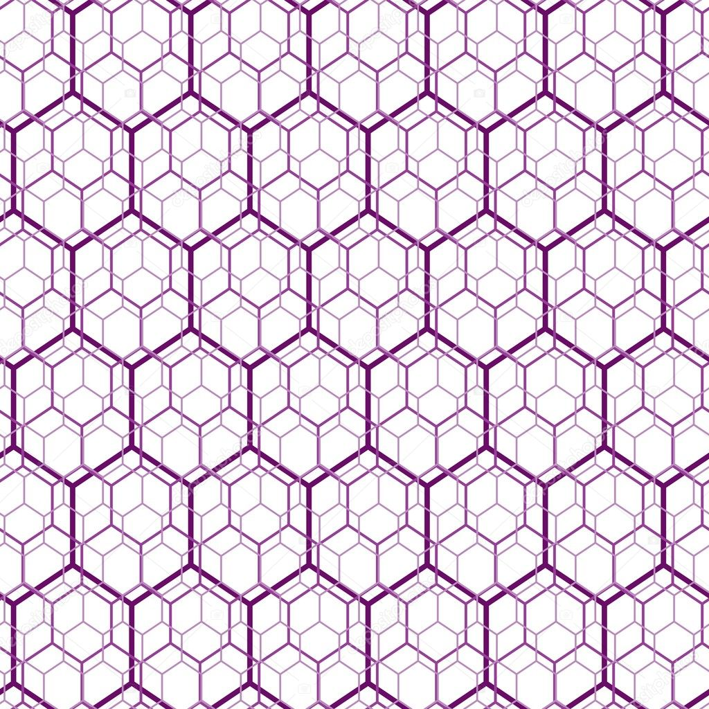 Seamless hexagon web pattern - Stock IllustrationHexagonal Pattern Vector