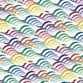 Seamless vivid pattern — Stock Vector