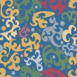 Seamless swirl pattern - Stock Vector