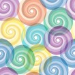 Seamless vivid swirl pattern — Stock Vector