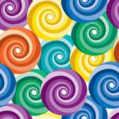 Seamless vivid swirl pattern — Vector de stock