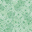 Stock Vector: Seamless swirl pattern