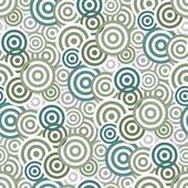 シームレスな円パターン — ストックベクタ