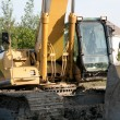 Foto Stock: Back hoe