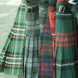 Kilts for sale — Stock Photo
