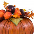 Decorative pumpkin - Stock Photo