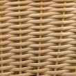 Wicker woven basket pattern - Stock Photo