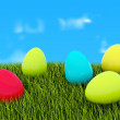 Colored eggs - Stockfoto