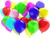 Färgglada ballonger — Stock fotografie