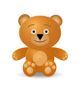 Teddy bear toy — Stock Vector