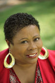 Middle Aged African American Woman — Stock Photo