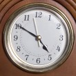 Almost quiting time clock at 4:50 — Stock Photo
