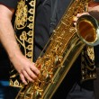 Saxophone player — Stock Photo #2833066