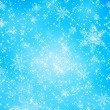 Snowflake and star pattern — Stock Photo
