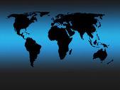 世界地図 — ストック写真