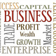 Business words - Stock Photo