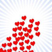 Valentijn kaart patroon — Stockfoto