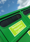 Green recycling — Stock Photo