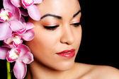 Beauty Makeup Portrait — Stock Photo