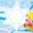 Glad background to Jewish holiday — Stock Photo #2685008