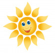 Royalty-Free Stock Vector Image: A merry sun