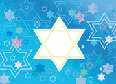 Glad background to the Jewish holiday — Stock Vector